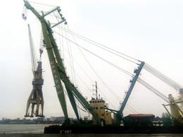 Nieuwe havenkraan